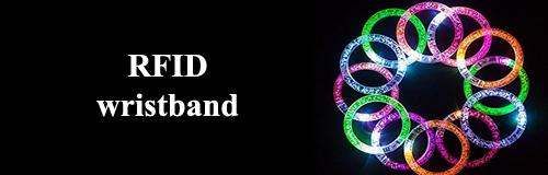 1008 wristband RFID wristband banner