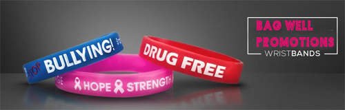 1050 bag well promotions wristband