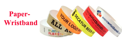 27 wristbands paper wristband banner
