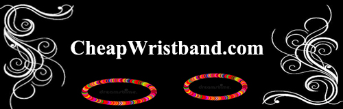 28 wristband cheap wristband banner