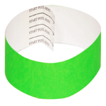 3/4 Tyvek Wristbands