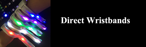 34 direct wristband banner