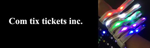 36 wristband com tix tickets inc banner