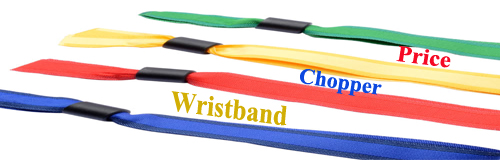 41 wristband price chopper wristband