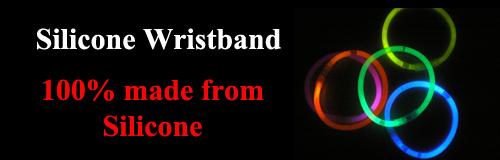 44 wristband silicone wristband banner