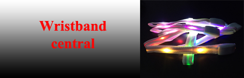 54 wristband wristband central banner