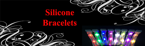 56 wristbands silicone wristbands banner