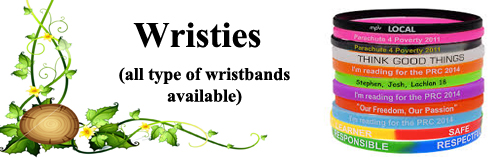 68 wristband wristies banner