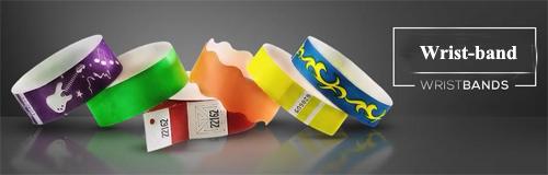 8 wristband wrist band banner