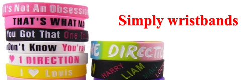 83 WRISTBAND SIMPLY WRISTBAND BANNER
