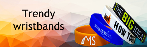 91 wristband trendy wristband banner