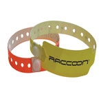 Full colour plastic wristbands