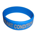 HEART CONDITION Color Filled Wristband