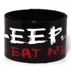 PU Leather Slap Wristbands