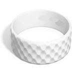 Plain Golf Ball Effect Silicone Wristband