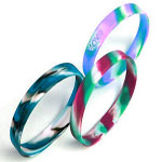 Swirls & Segmented Wristbands