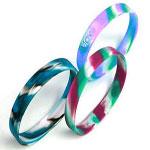 Swirls & Segmented Wristbands