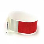 Tab-free Tyvek Wristbands