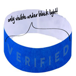 Ultra Security Wristbands