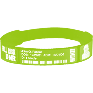 Bar-coded Wristbands