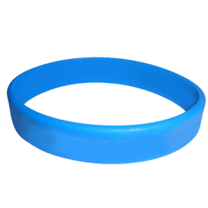 Color-filled Wristbands