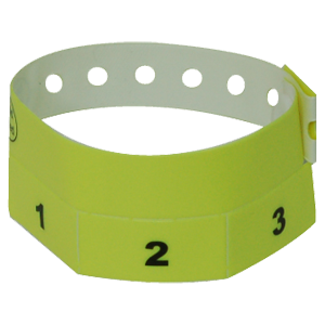 Multi-tab Wristbands