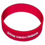 birthday wristbands