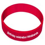 birthday wristbands