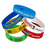 custom printed wristbands