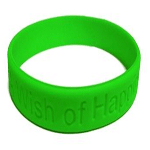 message wristband