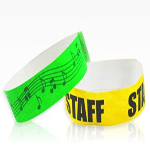 patterned wristbands