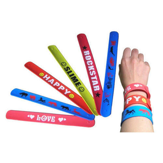 Silicone Slap Wristbands